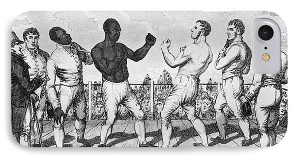 Boxing: Cribb V. Molineaux Phone Case by Granger