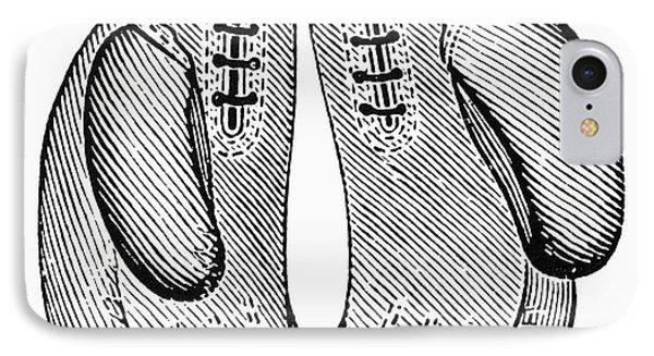 Boxing Gloves, C1900 Phone Case by Granger