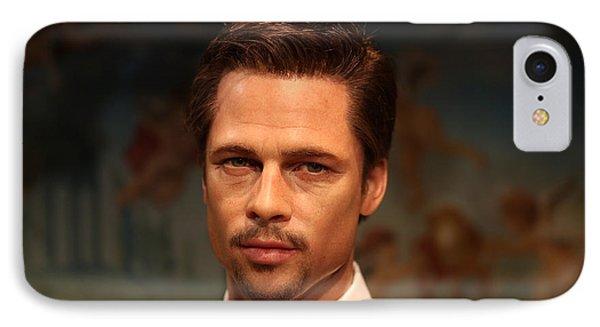 Brad Pitt - William Bradley Brad Pitt - Actor-  Phone Case by Lee Dos Santos