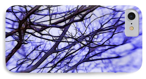 Branches In Winter Phone Case by Judi Bagwell