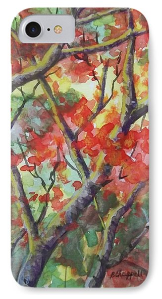 Branching Out IPhone Case by Becky Chappell