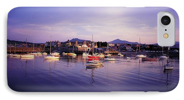 Bray Harbour, Co Wicklow, Ireland Phone Case by The Irish Image Collection