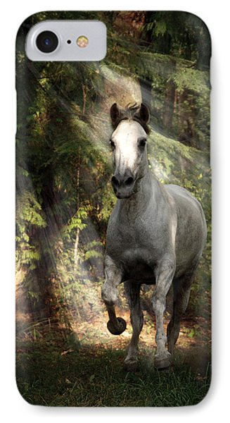 Breaking Dawn Gallop IPhone Case by Wes and Dotty Weber