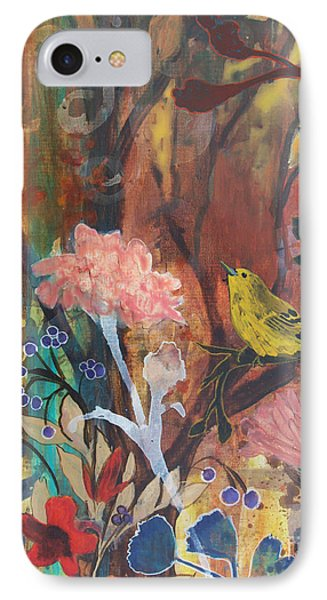 IPhone Case featuring the painting Breath Of Cooler Air by Robin Maria Pedrero