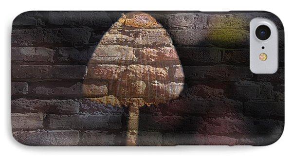 Brick Mushroom IPhone Case by Eric Liller