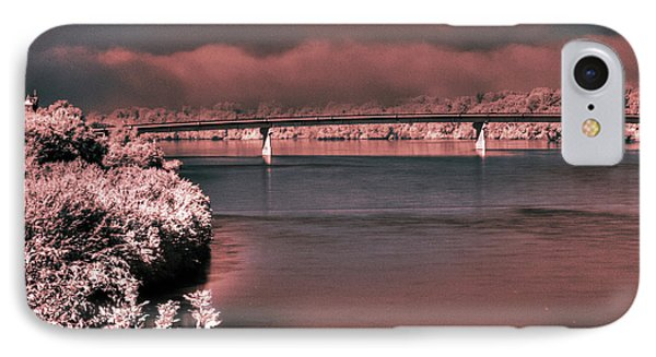IPhone Case featuring the photograph Bridge Across The Mo by William Fields