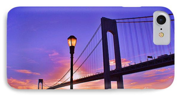 Bridge At Sunset 2 Phone Case by Artie Wallace