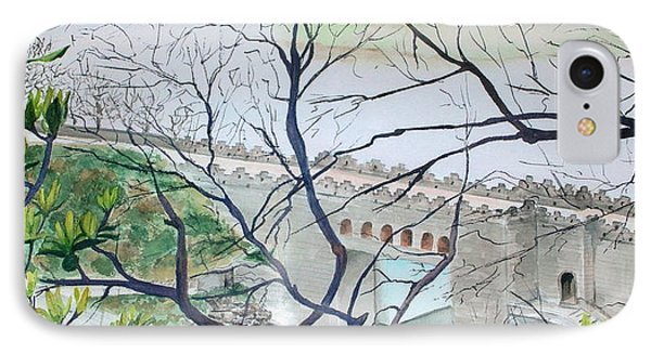 Bridge In China IPhone Case by Mary Kay Holladay