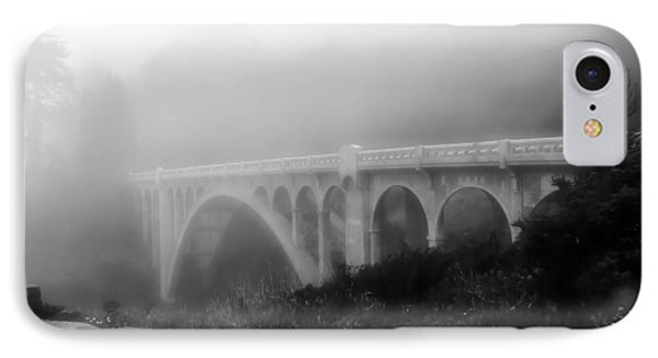 IPhone Case featuring the photograph Bridge In Fog by Katie Wing Vigil
