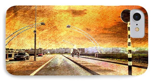 Bridge Over Troubled Water  Phone Case by Yvon van der Wijk