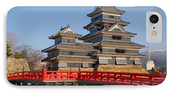 Bridge To The Matsumoro Castle IPhone Case