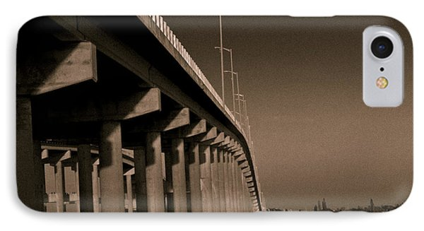 Bridge To The Moon Phone Case by Roger Wedegis
