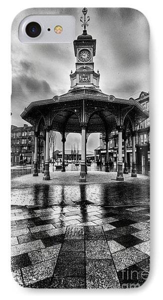 Bridgeton Cross Bandstand Glasgow IPhone Case by John Farnan