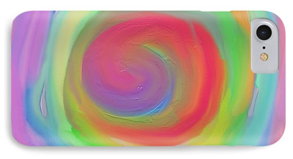 Bright Spiral IPhone Case