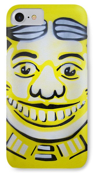 Bright White Yellow Tillie Phone Case by Patricia Arroyo