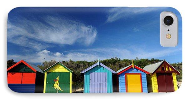 Brighton Beach IPhone Case by Yew Kwang