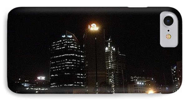 Brisbane Moon IPhone Case by Cameron Bentley
