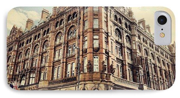 #britanniahotel  #hotel #buildings IPhone Case by Abdelrahman Alawwad