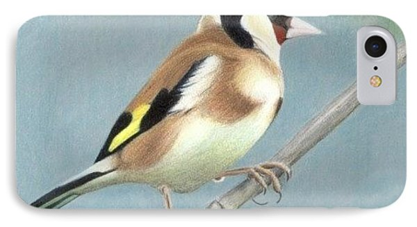 British Goldfinch IPhone Case by Ana Tirolese