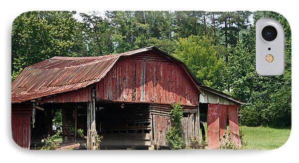 Broad Roofed Barn 1 IPhone Case by Douglas Barnett