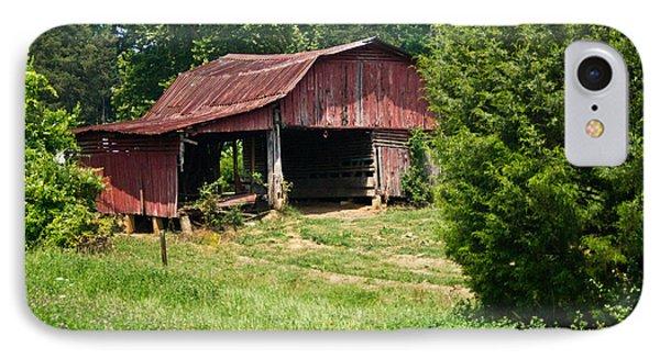 Broad Roofed Barn IPhone Case by Douglas Barnett