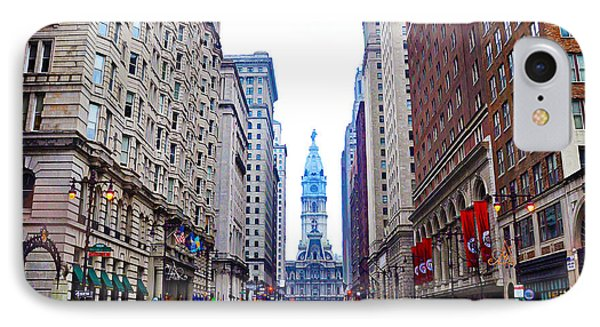 Broad Street Avenue Of The Arts Phone Case by Bill Cannon
