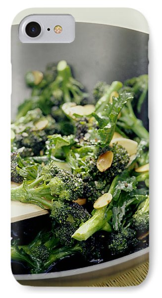 Broccoli Stir Fry Phone Case by David Munns