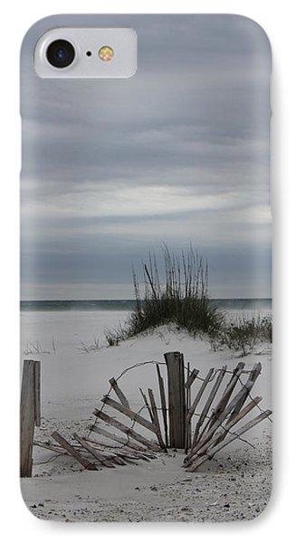 Broken Fences IPhone Case by Deborah Hughes