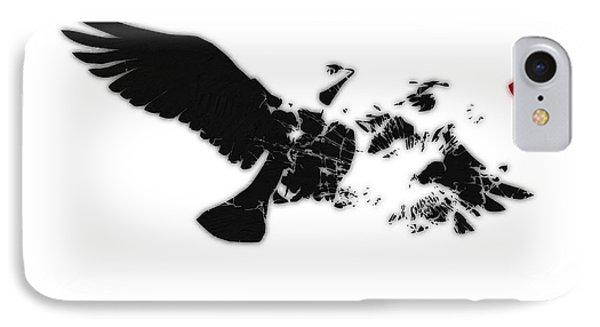 Broken Peace Phone Case by Pixel Chimp