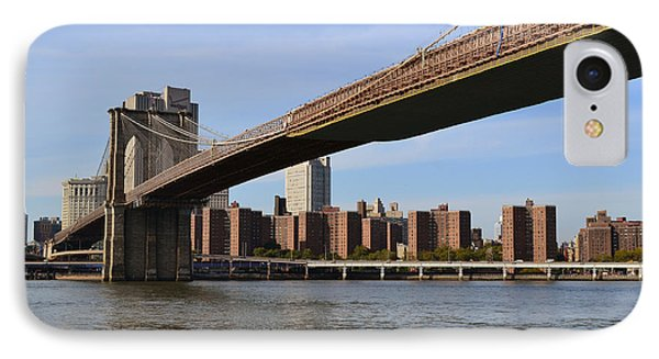 Brooklyn Bridge1 IPhone Case by Zawhaus Photography
