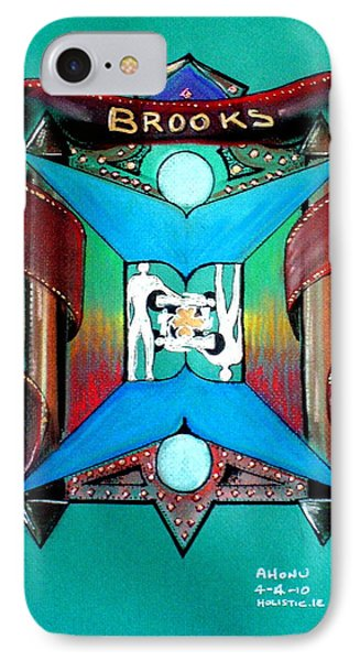 Brooks Family Crest IPhone Case by Ahonu