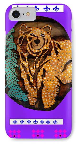 Brown Bear In My Cabin IPhone Case by Robert Margetts