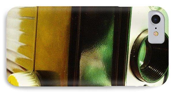 Brownie Hawkeye Phone Case by Gabe Arroyo