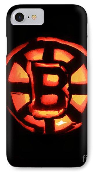 Bruins Carved Pumpkin Phone Case by Lloyd Alexander