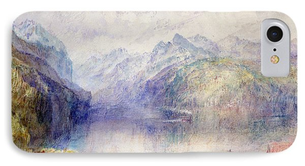 Brunnen  IPhone Case by Joseph Mallord William Turner