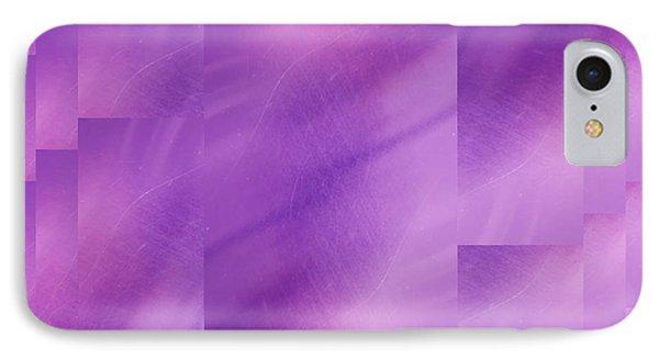 Brushed Purple Violet 7 Phone Case by Tim Allen