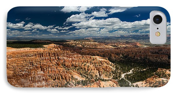 Bryce Canyon Ampitheater IPhone Case by Larry Carr