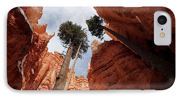 IPhone Case featuring the photograph Bryce Canyon Towering Hoodoos by Karen Lee Ensley