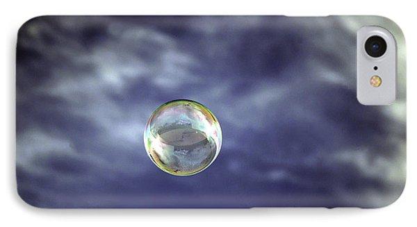 Bubble Self Portrait Phone Case by Dan McManus