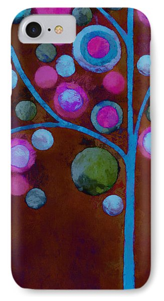 Bubble Tree - W02d - Left Phone Case by Variance Collections