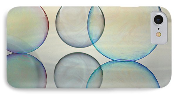 Bubbles On The Water IPhone Case by Cathie Douglas