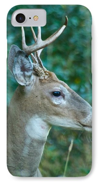 Buck Profile 9634 Phone Case by Michael Peychich