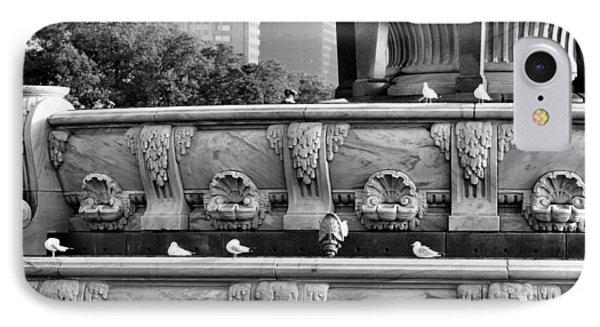 Buckingham Fountain - 5 Phone Case by Ely Arsha