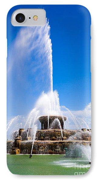 Buckingham Fountain In Chicago Phone Case by Paul Velgos
