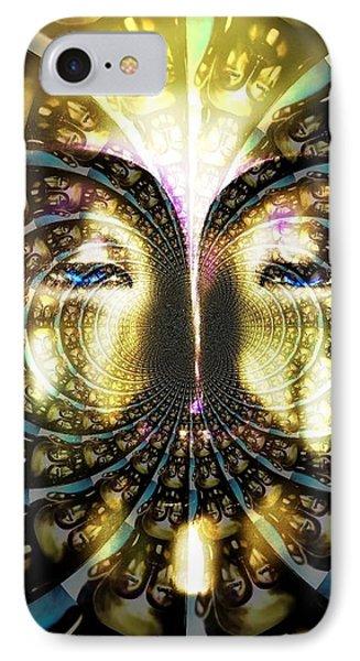 Buddha Blue Mandala IPhone Case