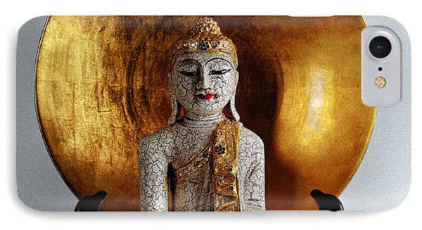 IPhone Case featuring the photograph Buddha Girl by Gary Dean Mercer Clark