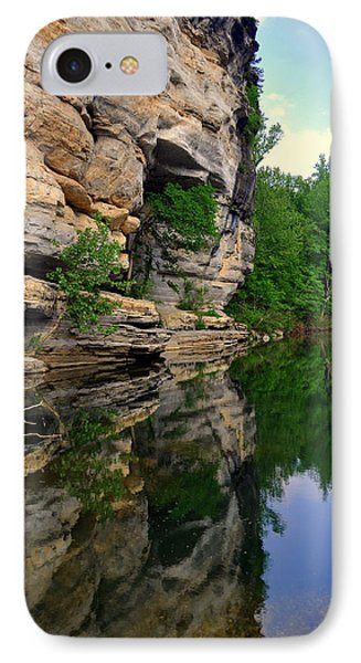 Buffalo Bluff Reflections Phone Case by Marty Koch