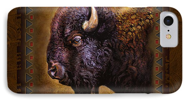 Buffalo Lodge IPhone Case