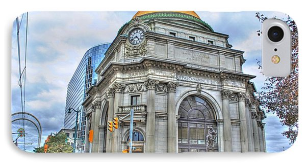 IPhone Case featuring the photograph Buffalo Savings Bank  Goldome  M And T Bank Branch by Michael Frank Jr