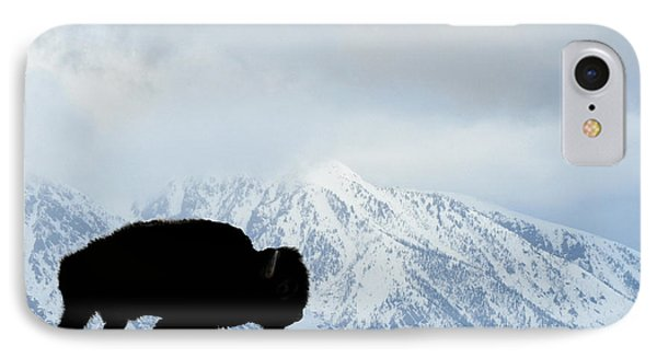 IPhone Case featuring the photograph Buffalo Suvived Another Yellowstone Winter by Dan Friend